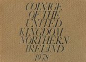 1978 Proof Coinage Of Great Britain and Northern Ireland 6 Coin Set